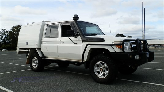 2013 Toyota Landcruiser Vdj79r MY13 Workmate Double Cab Truck Traders WA  - Light Commercial for Sale