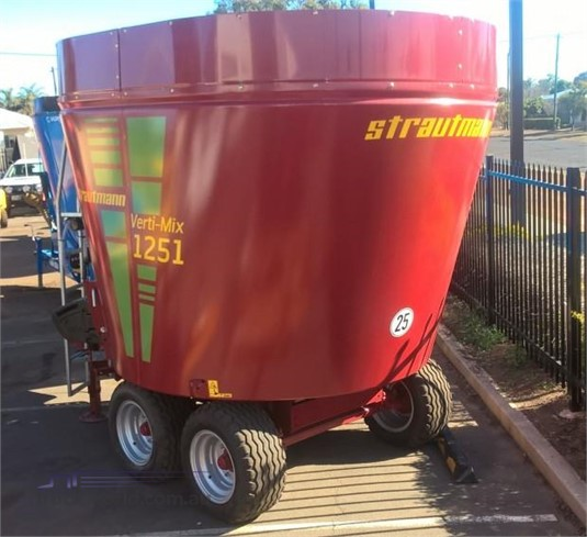 2018 Strautmann Vertimix 1251 Black Truck Sales - Farm Machinery for Sale