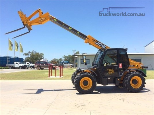 2012 Jcb 531-70 Black Truck Sales - Forklifts for Sale