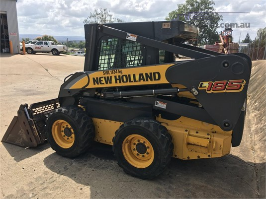 0 New Holland L185 Black Truck Sales - Heavy Machinery for Sale