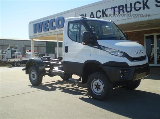 2018 Iveco Daily 55s17W 4x4 Black Truck Sales - Trucks for Sale