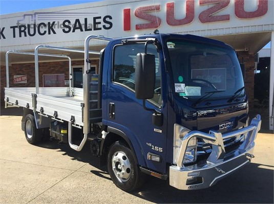 2019 Isuzu NPR 45 155 Black Truck Sales - Trucks for Sale