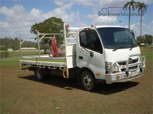 2011 Hino 300 Series 716 Black Truck Sales - Trucks for Sale