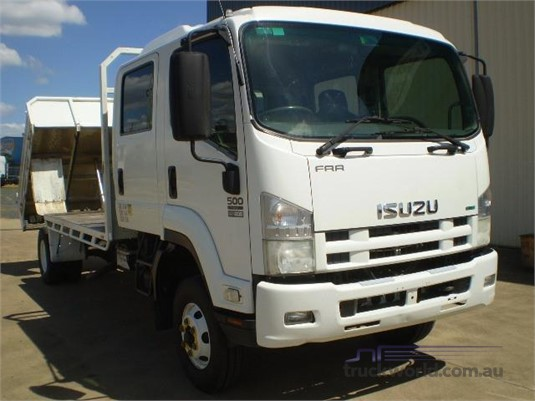 2012 Isuzu FRR 500 Black Truck Sales - Trucks for Sale