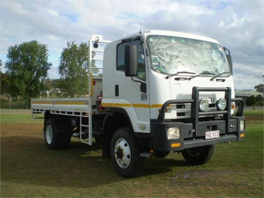 2012 Isuzu FTS 800 4x4 Black Truck Sales - Trucks for Sale