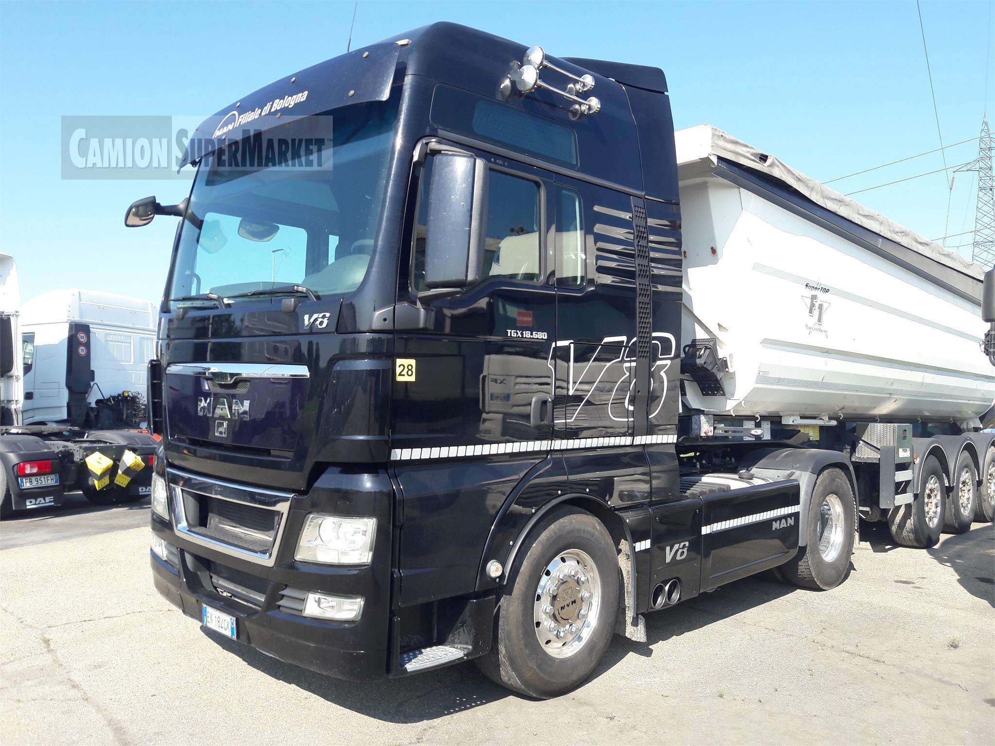 MAN TGX18.680 Usato 2012 Emilia-Romagna