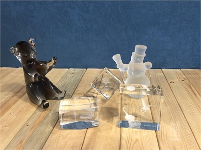 CRYSTAL COLLECTION PAPER WEIGHTS Other For Sale - 1 Listings