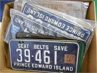Lot of 39 License Plates