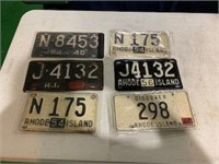 Lot of 25+ License Plates