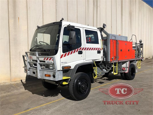 2001 Isuzu FTS 750 4x4 Dual Cab Truck City  - Trucks for Sale