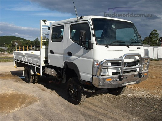 Crew Cab Trucks For Sale >> Canter Fg 4x4 Crew Cab Awd Truck Sales In Australia