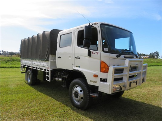 2012 Hino 500 Series 1322 GT 4x4 Crew - Trucks for Sale