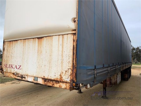 1992 Freighter 45ft Curtainsider Trailer - Trailers for Sale