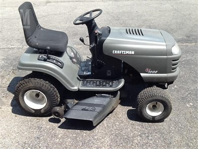 CRAFTSMAN Riding Lawn Mowers For Sale - 32 Listings | MarketBook co
