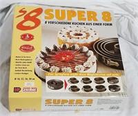 Zenker Super 8 Springform Set New In The Box
