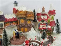 Animated Santa Village Home Shopping Network