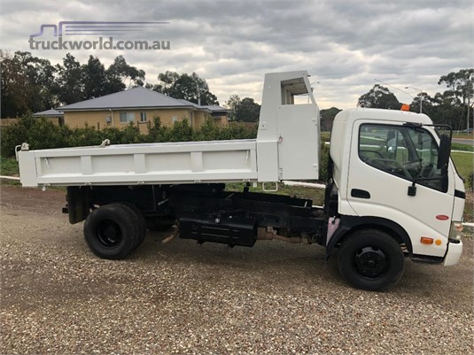 2008 Hino 300 Series 616 Tipper Trucks for Sale