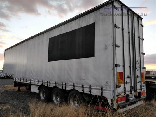 2002 Krueger Drop Deck Curtainsider Trailer Wheellink - Trailers for Sale