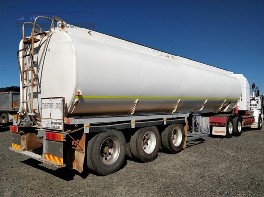 1998 Tieman 43000 LITRE FUEL TANKER ROADTRAIN LEAD Wheellink - Trailers for Sale
