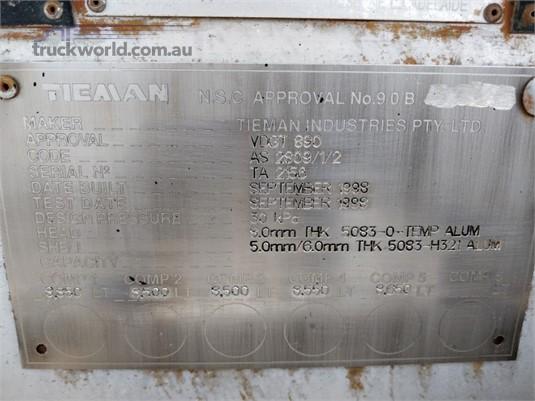 1998 Tieman 43000 LITRE FUEL TANKER ROADTRAIN LEAD Wheellink - Trailers for Sale
