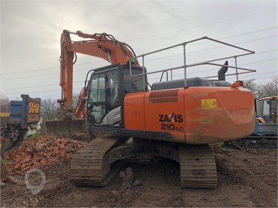 Used HITACHI ZX210 for sale in the United Kingdom - 19 Listings
