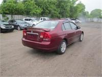 2002 HONDA CIVIC 157731 KMS
