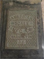 American Scale MFG Co Character Readings Scale