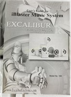 New Iblaster Music System Excalibur 184