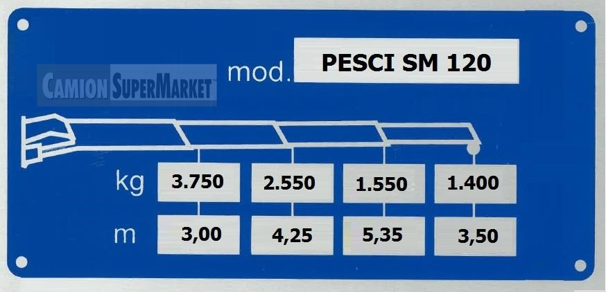 PESCI SM120 Usato 2019 Veneto