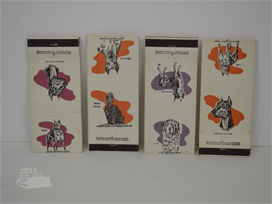 20] DOG THEMED MATCHBOOK COVERS Other Items For Sale - 2