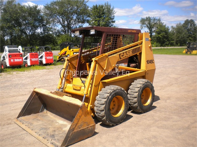 1993 CASE 1845C For Sale In Holcombe, Wisconsin