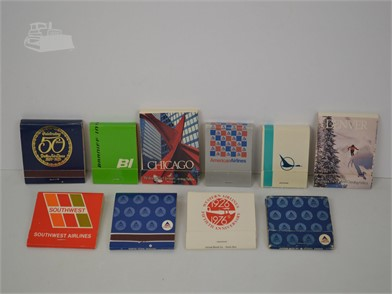 10] VINTAGE AIRLINE MATCHBOOKS Other Items For Sale - 1