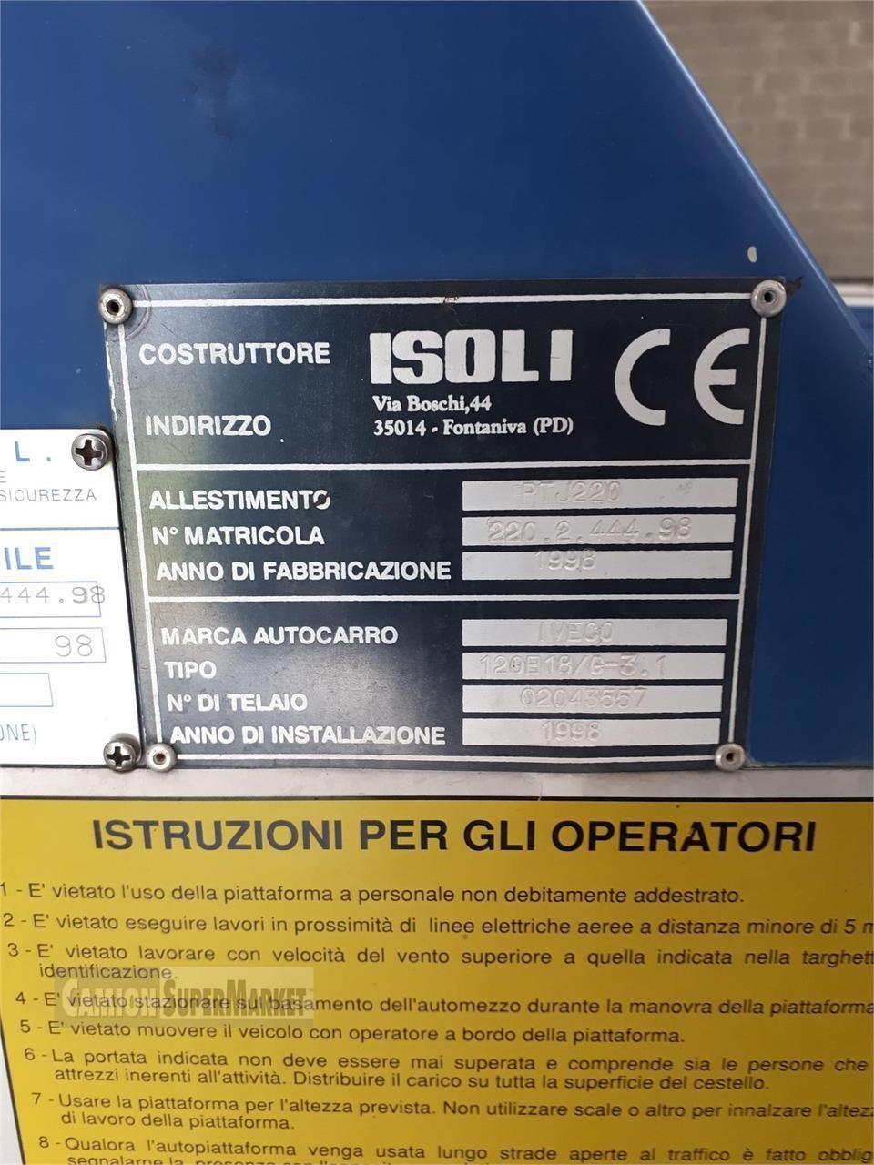 ISOLI PTJ220 Usato 1992