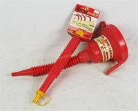 Brand New Bottle Necker For Gas & Funnel