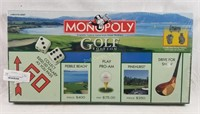 New Sealed Golf Edition Monopoly Board Game