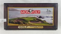 Sealed Golf Signature Holes Monopoly Board Game