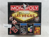 New Sealed Las Vegas Edition Monopoly Board Game