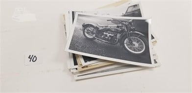 Neat Old Original Harley Davidson And Ford Photos Other