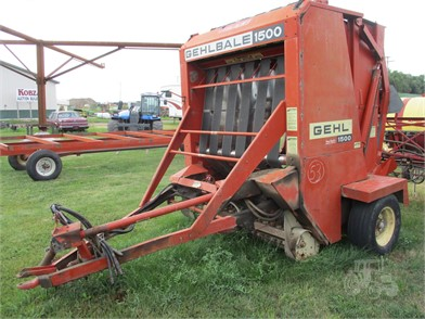 GEHL Round Balers For Sale - 61 Listings | TractorHouse com - Page 1