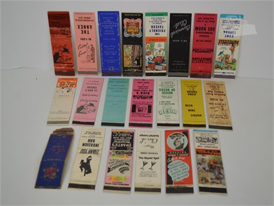 20] VINTAGE CLUB AND BAR MATCHBOOK COVERS Other Items For