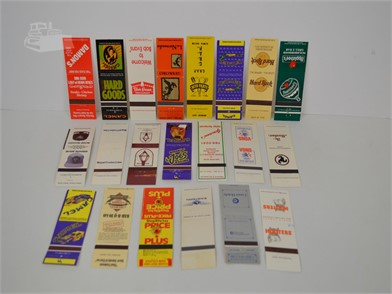 20] VARIOUS VINTAGE MATCHBOOK COVERS Other Items For Sale
