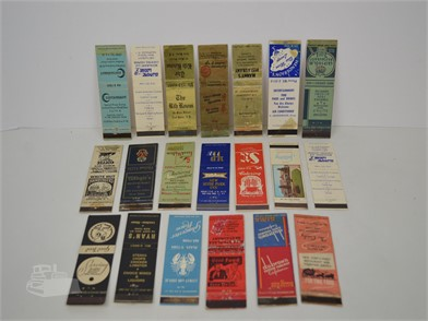 20] NEW YORK RESTAURANT MATCHBOOK COVERS Other Items For