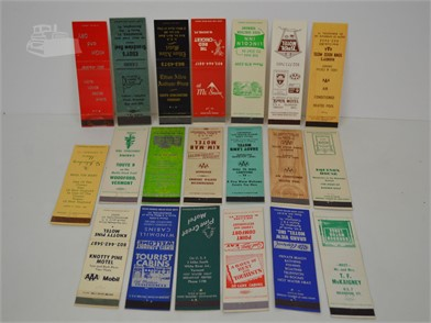 20] VERMONT MOTEL MATCHBOOK COVERS Other Items For Sale - 1