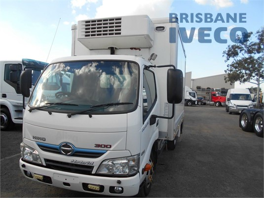 2013 Hino 300 Series 616 Hybrid Iveco Trucks Brisbane - Trucks for Sale