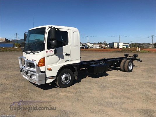 2014 Hino 500 Series 1124 FD Long Air Carroll Truck Sales Queensland - Trucks for Sale