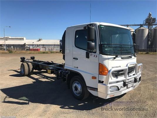 2014 Hino 500 Series 1124 FD Long Air Carroll Truck Sales Queensland - Trucks for Sale