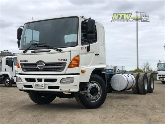 2010 Hino 500 Series 1727 GH National Truck Wholesalers Pty Ltd - Trucks for Sale