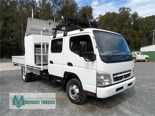 2010 Fuso Canter FE84 Crew Midcoast Trucks - Trucks for Sale