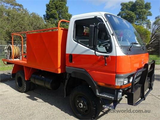 1995 Mitsubishi Canter 4x4 Fire Truck