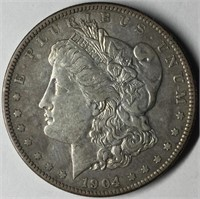 August Coin & Currency Online Only Auction